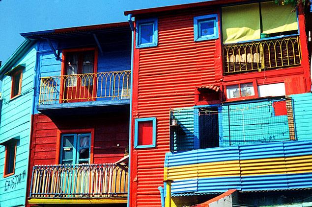 Caminito, bairro boemio de casas multicoloridas em Buenos Aires Silvio Cioffi/Folhapresss