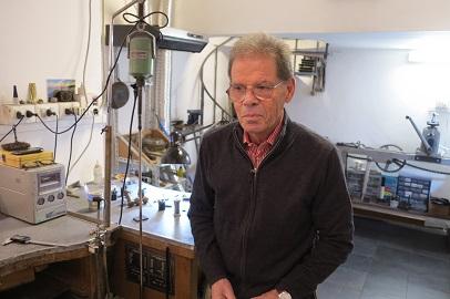 O joalheiro Vittorio Alfonsi